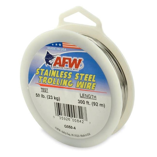 AFW Stainless Steel Trolling Wire - Fish & Tackle