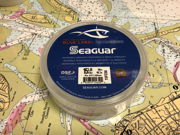 Seaguar Blue Label Flourocarbon Leader-50yd Spool
