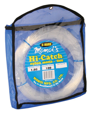 Momoi Hi-Catch X-Hard Nylon Monofilament Line 100yd Coil