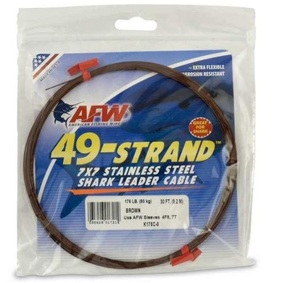 AFW 49-Strand 7x7 Stainless Steel Cable