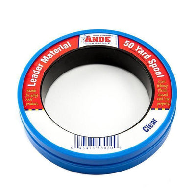 Ande Monofilament Leader Material - 50Yd Wrist Spool
