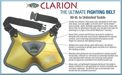 Aftco Clarion Ultimate Fighting Belt