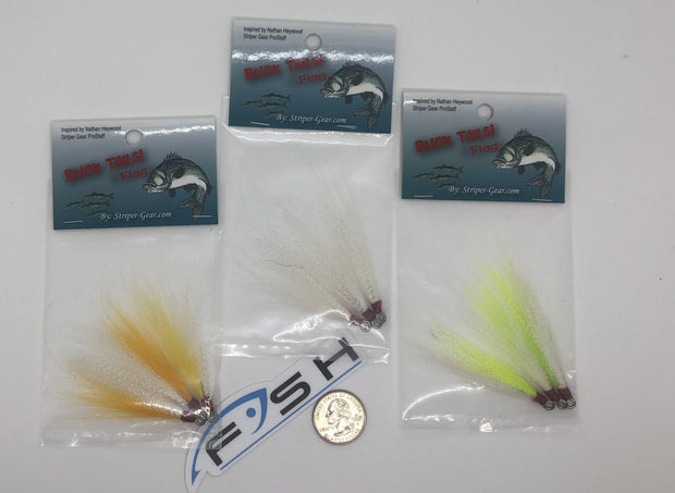 BUCK TAILS! Flag by Striper-Gear - Fish & Tackle