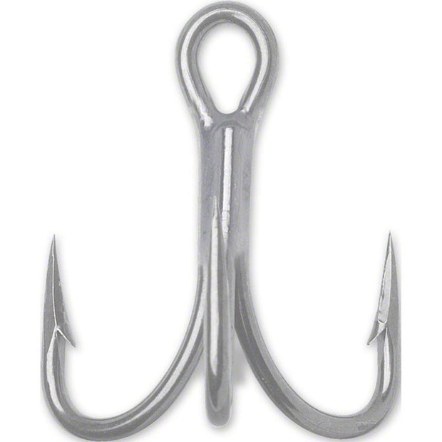 VMC 9626PS 4X 8 Pieces Short Shank O'Shaughnessy Treble Hooks