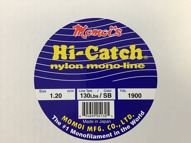 Momoi Hi-Catch Monofilament - 5lb Spool