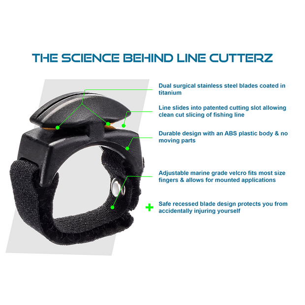 Flat Mount Cutter by Line Cutterz