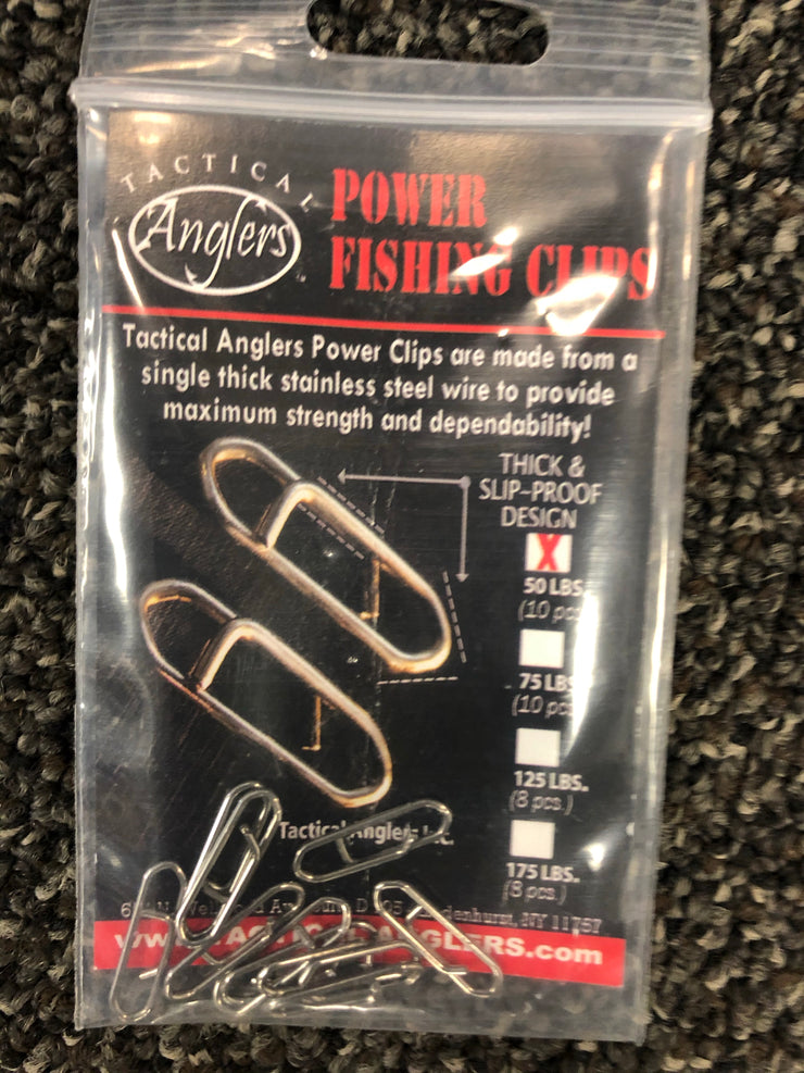 Tactical Anglers Power Fishing Clips