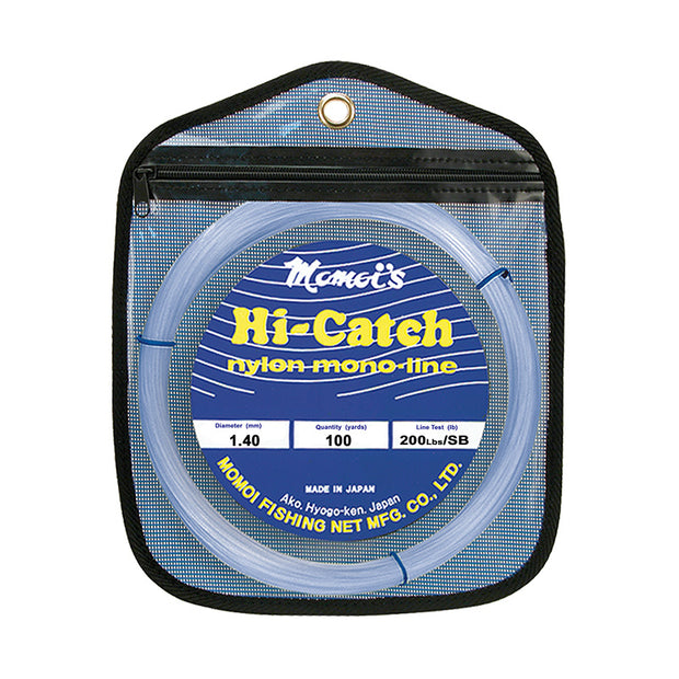 Momoi Hi-Catch Monofilament 100yd Coil - Smoke Blue
