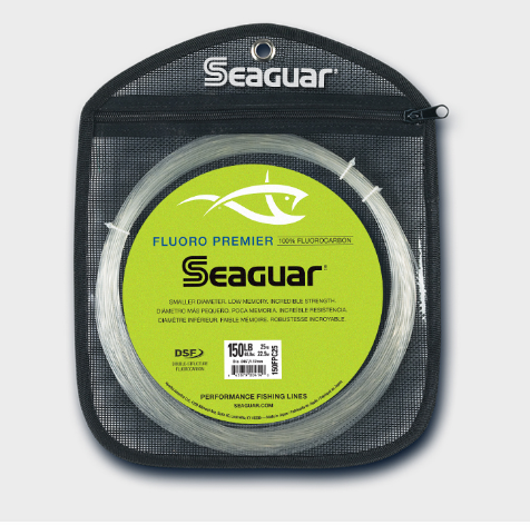 Seaguar Big Game Premier IGFA Rated Fluorocarbon Leader - 25yd Coil