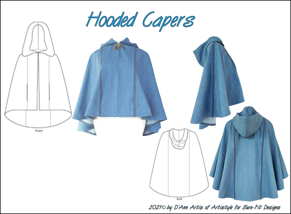 Fashion Leaflet Hooded Capers
