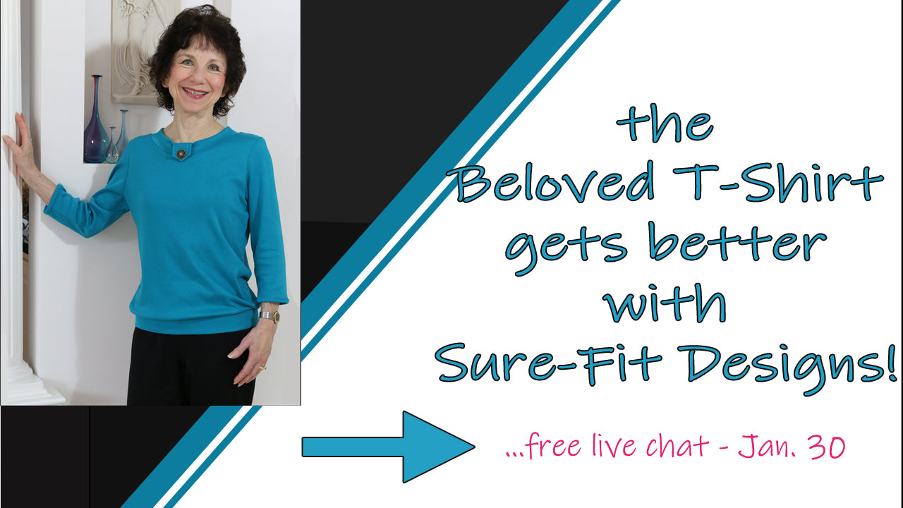 The beloved T-Shirt gets better with Sure-Fit Designs