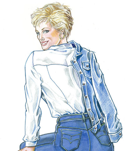 Fashion Leaflet 3 Sporty Denim Jacket Digital Version Sure Fit