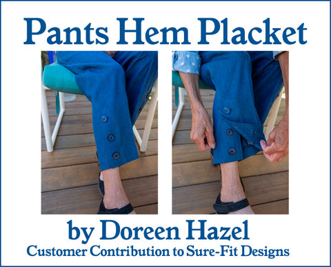 Placket Pants by Doreen