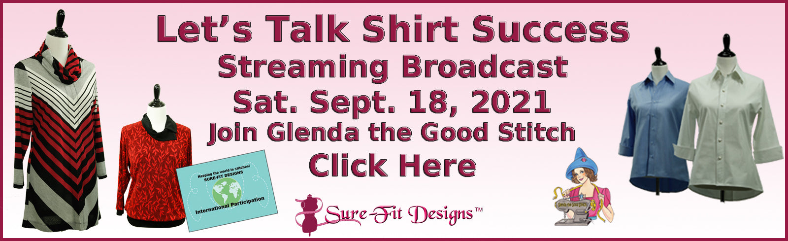 Let's Talk Shirt Success streaming broadcast