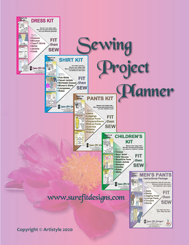 SFD Sewing Project Planner