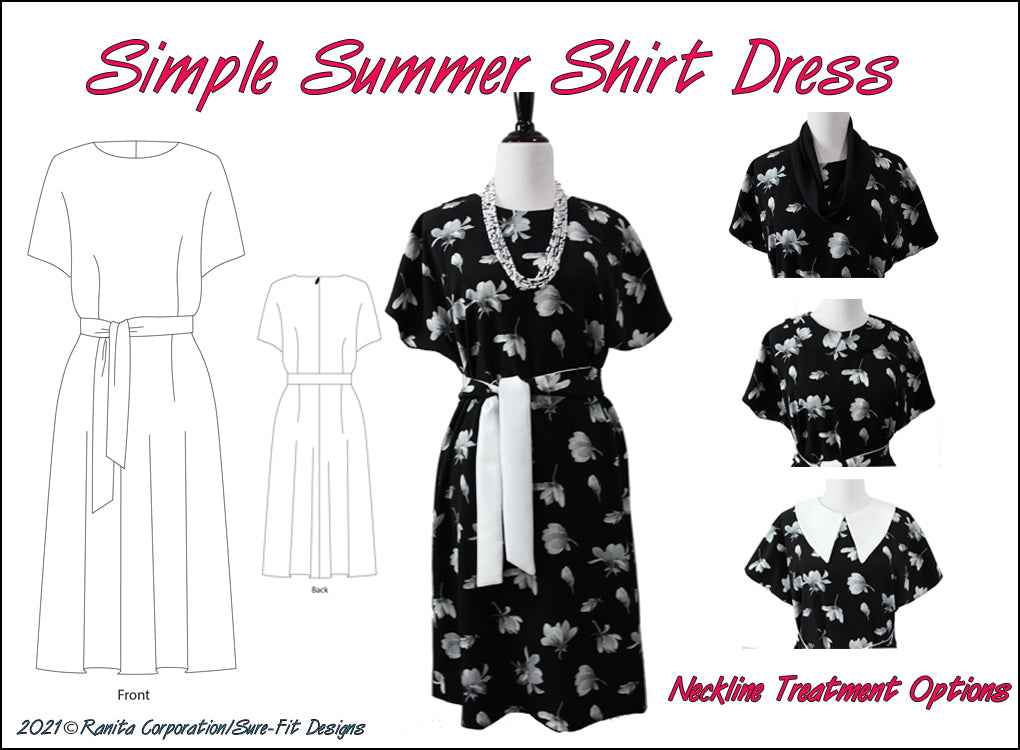 Simple Summer Shirt Dress