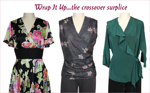 Crossover Wrap Front options by Sure-Fit Designs