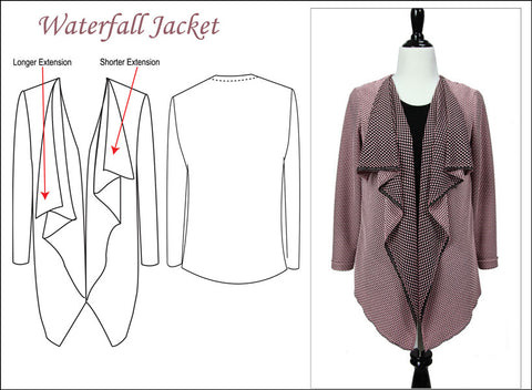 Waterfall Jacket by Sure-Fit Designs