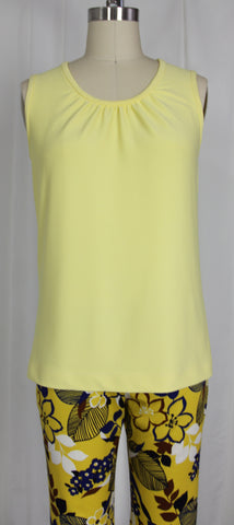 Tank Top Gathered Center Front
