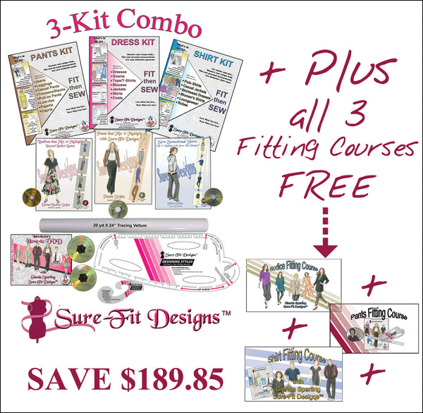 3-Kit Combo with intensive Fitting Courses