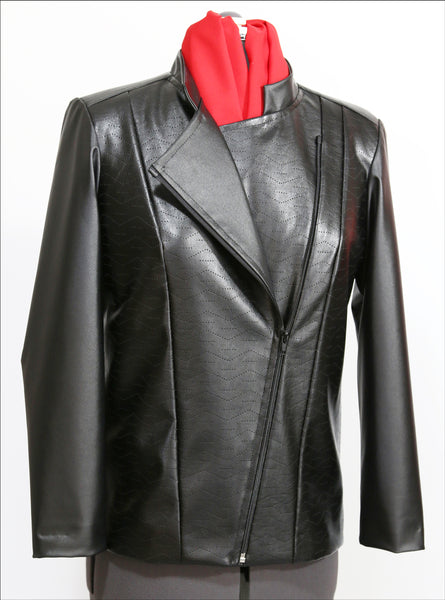 Asymmetrical Zipper Jacket
