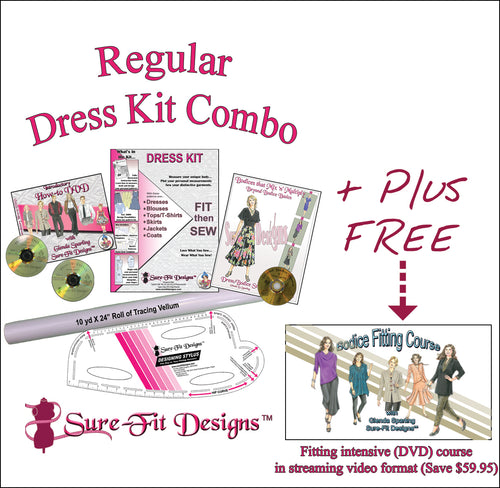 Dress Kit Combo with intensive Bodice Fitting Course