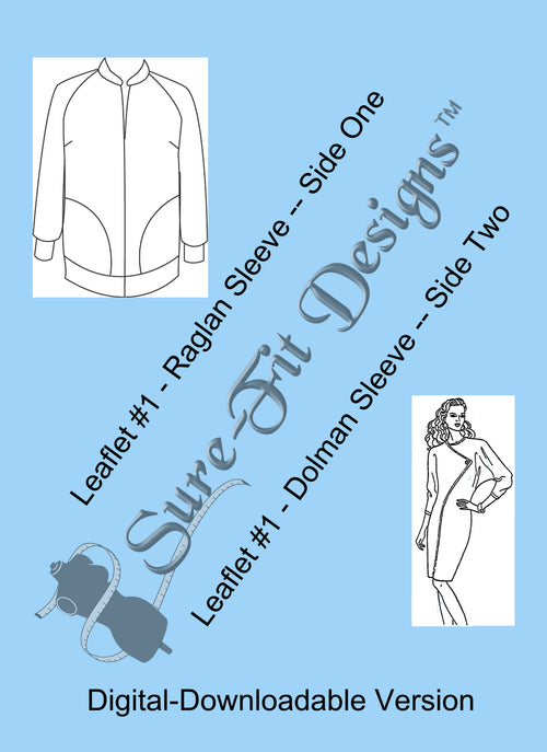 Fashion Leaflet #1 Raglan/Dolman Sleeves - Digitial Version