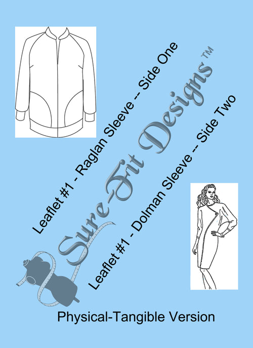 Fashion Leaflet #1 Raglan/Dolman Sleeves