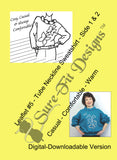 Fashion Leaflet #5 Tube Neckline Sweatshirt - Digital Version
