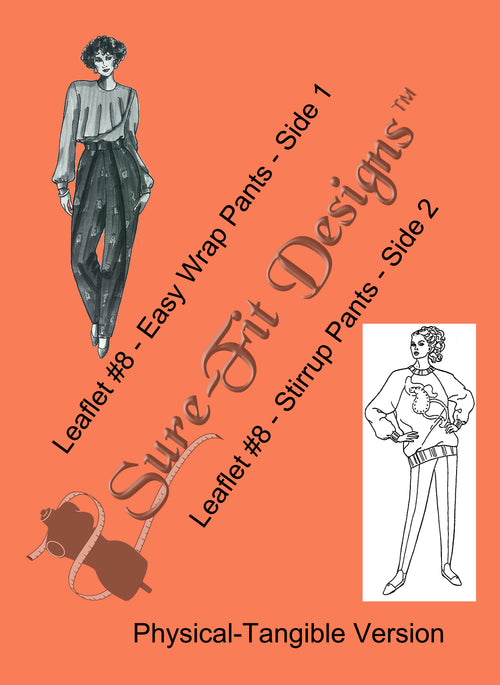 Fashion Leaflet #8 Easy Wrap Pants & Stirrup Pants