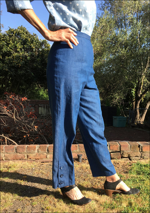 Placket Pants by Doreen Hazel