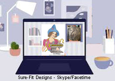 Skype or FaceTime with Glenda the Good Stitch