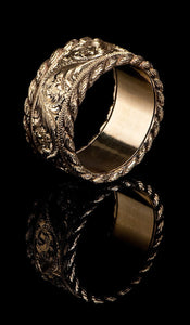 Western Style Gold Band GR-601