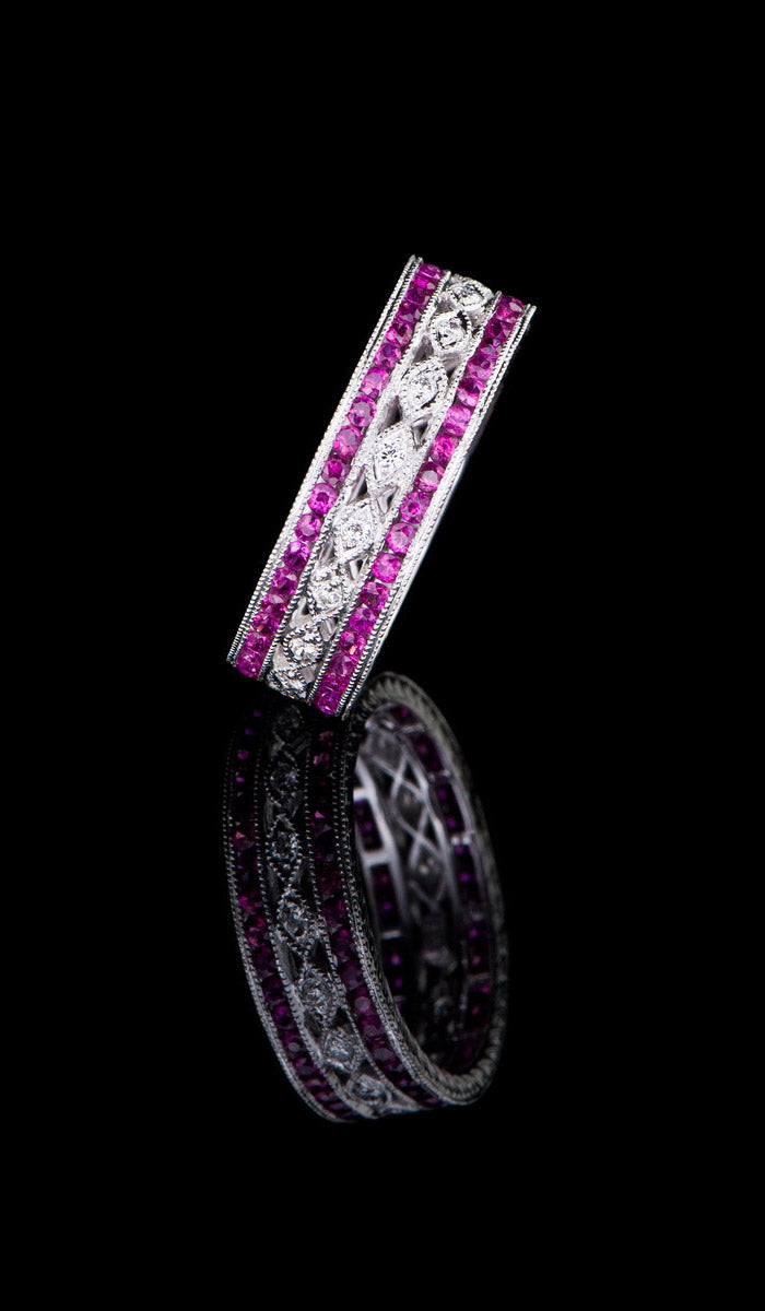 Ruby & Diamond Ring RR-603
