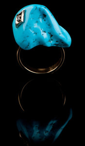 Uncut Turquoise Ring TR-600