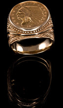 1914 Indian Head Coin Ring CR-604