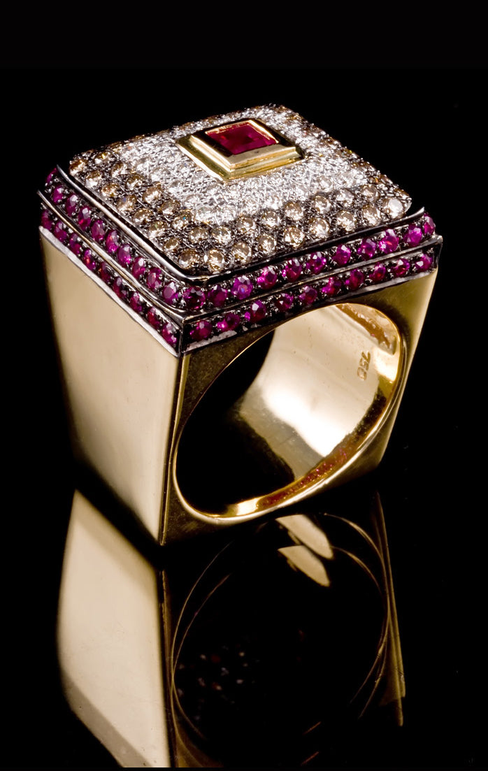 Ruby and Diamond Ring RR-601