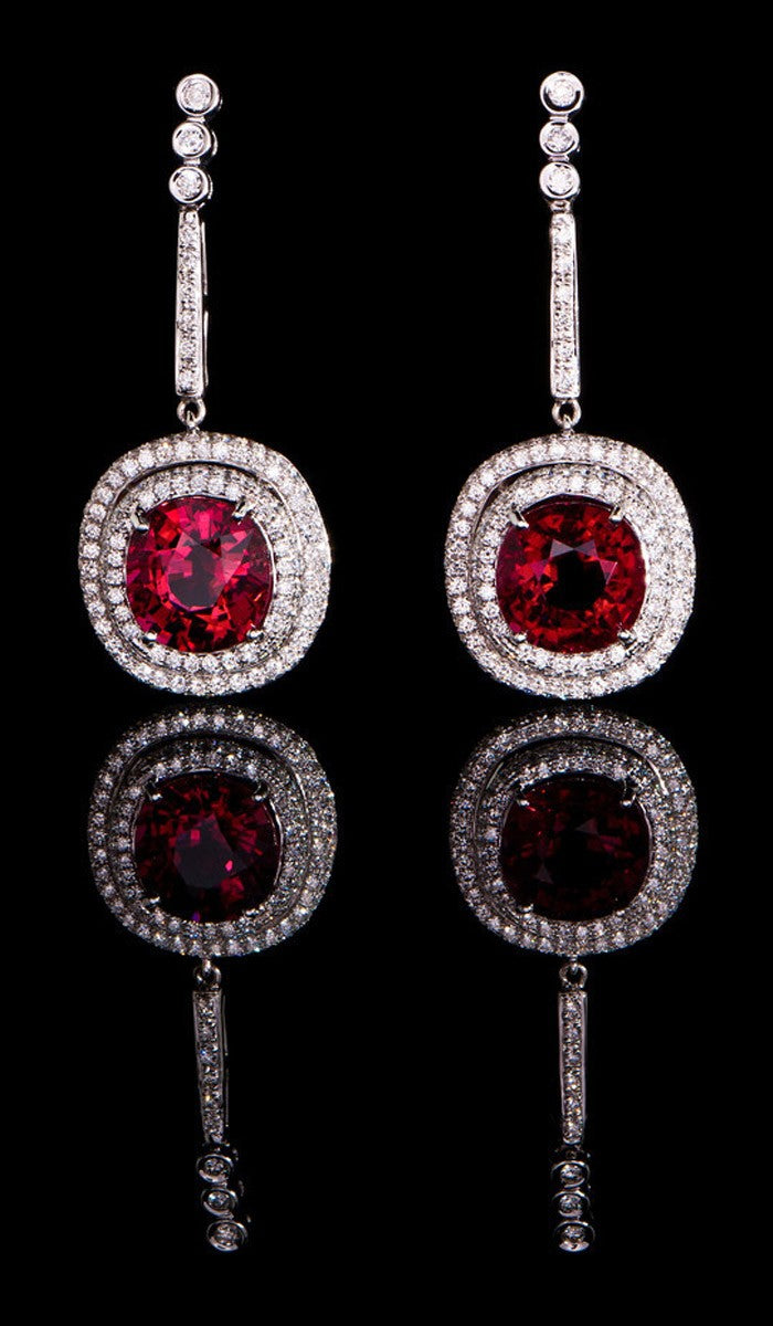 Rubellite Earrings RTE-300