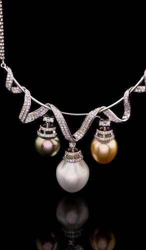 Triolet Pearl Necklace PN-401