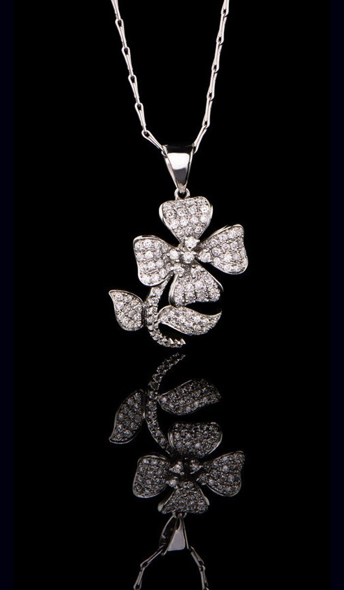 Flower Diamond Pendant DP-501