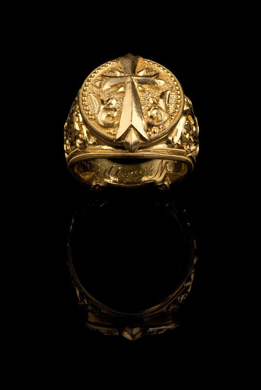 Byzantine Cross Ring GR-610
