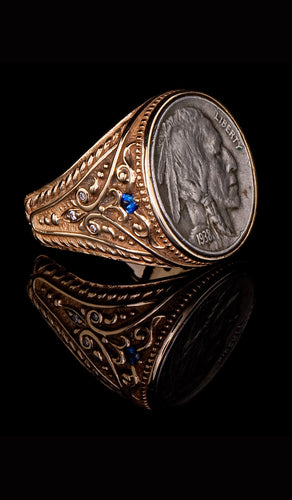 1938 Indian Head Ring CR-602