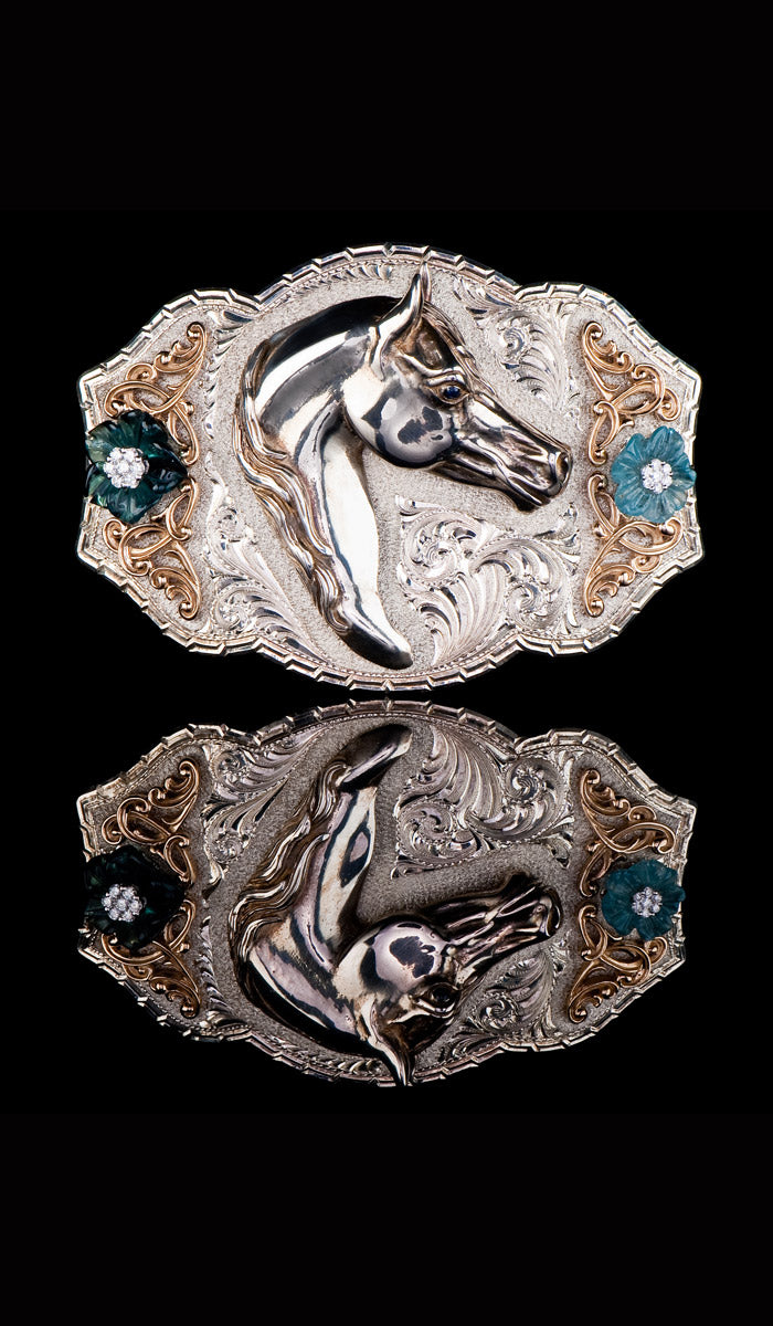 Horse Belt Buckle SBU-200