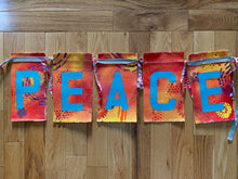 PEACE prayer flags - I