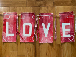 LOVE prayer flags - II
