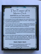The Power of 3 Mantra Deck