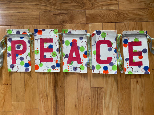 PEACE prayer flags - II