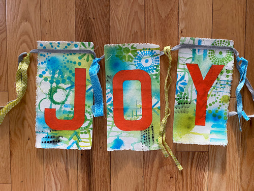 JOY prayer flags - III