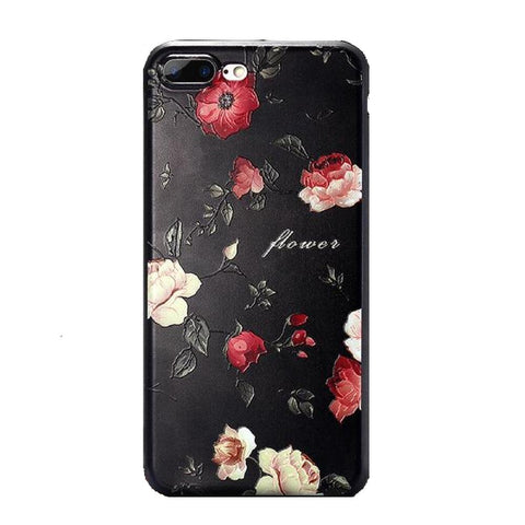 3D Flower Soft Phone Case