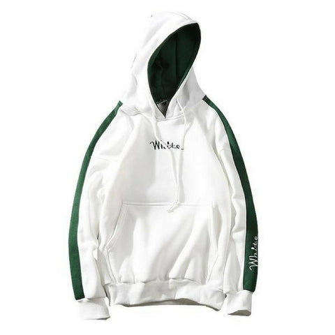 "Hooded Sweatshirts ""White"""